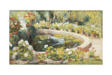 The Middle Pond in the Park of the Manoir a Marquayrol, 1919 Giclee Print by Henri Martin