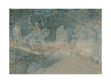 Effects of Bad Government on the Countryside, 1338-1339 Giclee Print by Ambrogio Lorenzetti