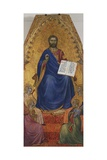 Enthroned Christ Being Adored by Angels Giclee Print by Giovanni Da Milano