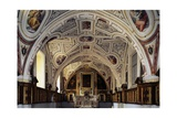 Sacristy of Vasari, Ceiling Frescoes Giclee Print by Giorgio Vasari