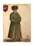Muscovite Ambassador Giclée-Druck von Jan van Grevenbroeck
