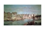 The Tiber to Porto Di Ripetta Giclée-Druck von Gaspar van Wittel