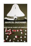 Poster for Marcel Duchamp at the Van Abbemuseum, Eindhoven, 1965 Giclee Print