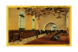 Ticket Concourse, Union Station, Los Angeles, California, C.1910-35 Giclee Print