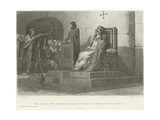 The Body of Pope Formosus Exhumed for Trial by Order of Pope Stephen Vii Giclee Print by Jean Paul Laurens