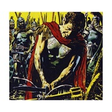 Alexander Slashed the Gordian Knot Apart with His Sword Giclee Print by Jesus Blasco