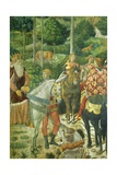 The Cavalcade of the Magi, 1459 Giclée-tryk af Benozzo Gozzoli