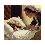 The Prince Consort Was Taken Suddenly Ill and Died in 1861 Giclee Print by Alberto Salinas