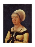 Portrait of 34-Year-Old Woman, 1516-1517 Giclee Print by Hans Holbein the Elder