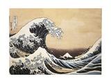 The Great Wave of Kanagawa, 1832 Giclee Print by Katsushika Hokusai