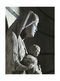 Madonna with Child, 1278-1284 Giclee Print by Giovanni Pisano
