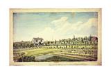 William Curtis's Botanic Garden, Lambeth Marsh, Ante 1787, C.1787 Giclée-tryk af James Sowerby