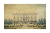 The Facade of Villa Floridiana in Naples Giclee Print by Antonio Niccolini