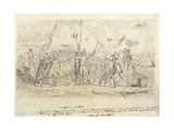 Battle of Montenotte, April 11-12, 1796 Giclee Print by Jean Baptiste Joseph Wicar