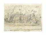 Battle of Montenotte, April 11-12, 1796 Giclee Print by Jean Baptiste Joseph Wicar