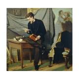 Lanfredini Self-Portrait, Circa 1866 Giclee Print by Giovanni Boldini