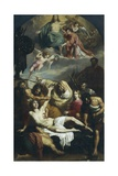 Martyrdom of St Lawrence, 1825-1827 Giclee Print by Francesco Podesti