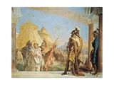 Briseis Led to Agamemnon Giclee Print by Giambattista Tiepolo