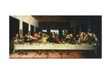 Copy of Last Supper by Leonardo Da Vinci Giclée-tryk