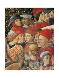 The Cavalcade of the Magi, 1459 Giclee Print by Benozzo Gozzoli