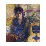 Portrait of Mrs Cragnolini Fanna Giclee Print by Umberto Boccioni