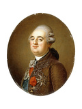 Portrait of King Louis XVI of France, Bust-Length, 1787 Giclee Print by Adolf Ulrich Wertmuller