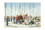 Bivouac of Russian Troops on the Champs Elysées, Paris, 31 March 1814 Giclee Print