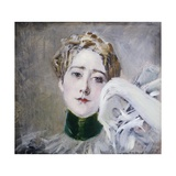 Portrait of Princess of Isenburg Birstein Giclee Print by Giovanni Boldini