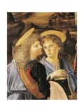 Baptism of Christ, 1475-1478 Giclee Print by Andrea del Verrocchio