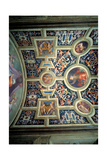 Santa Maria Novella: Decoration of the Pope's Chapel, 1515 Giclée-tryk af Jacopo Pontormo
