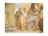 The Magnanimity of Scipio Giclee Print by Giambattista Tiepolo