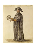 Doctor's Robe Giclee Print by Jan van Grevenbroeck