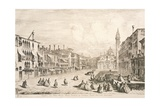 Campo Santa Maria Formosa in Venice, 1741 Giclee Print by Michele Marieschi