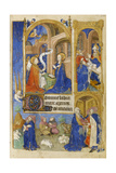 Ms 39-1950 F.26R the Annunciation and Annunciation to the Shepherds, 1464 Giclee Print