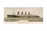 Cunard Line Promotional Brochure for 'Mauretania' C.1930 Giclee Print