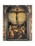Crucificação Impressão giclée por Jacopo Robusti Tintoretto