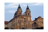 View of Melk Benedictine Abbey Giclee Print by Jakob Prandtauer
