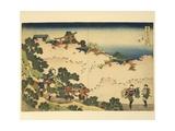 Italy, Genoa, Cherry Blossoms in Yoshino Giclee Print by Katsushika Hokusai