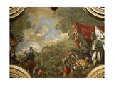 The Doge Pietro Mocenigo Conquering Smirne in 1471 Giclee Print by Paolo Veronese