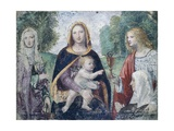 Madonna and Child with Saints Giclee Print by Bernardino Luini