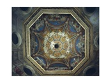 Dome with Frescoes Giclee Print by Cesare Maccari