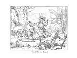 Conrad Bayer Von Boppard Giclee Print by Alfred Rethel