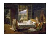 Orphan with Cholera, 1833 Giclée-Druck von Pierre Roch Vigneron