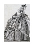 Sketch for Stage Costume from Athalie Giclee Print by Jean Racine