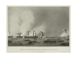 Attack on Roanoke Island - Landing of the Troops, 1862 Giclee Print by Alonzo Chappel