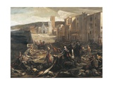 Plague in Marseilles, 1721 Giclee Print by Michel Serre
