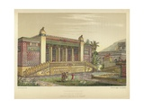 Persepolis, Palace of Darius, Perspective View of Facade Giclee Print