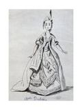 Mademoiselle Dubois in Role of Josabeth in Athalie Giclee Print by Jean Racine