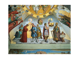 Scene from 'The Heavens of the Blessed and the Empyrean', Dante Room Giclee Print by Philipp Veit