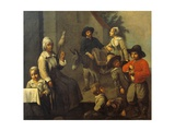 Scenes of Peasant Life or Birds Hunter Giclee Print by Mathieu Le Nain